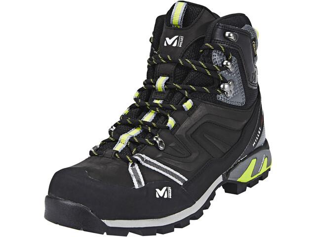 2f0497265d1 Millet High Route GTX Shoes Men charcoal/acid green